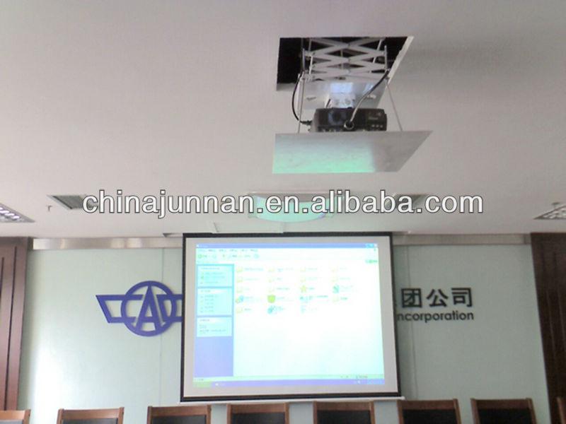 Wonderful Scissor Type Motorized Projector Ceiling Mount
