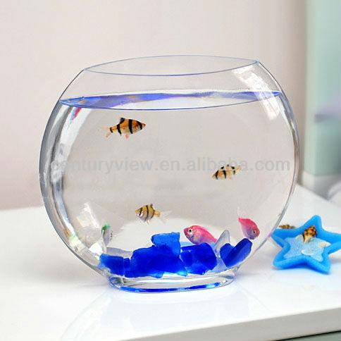 Hand blown fish bowl glass half sphere buy glass half for Fish bowl glass