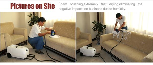 Mini Size Gms 1 China Dry Foam Sofa Cleaning Machine