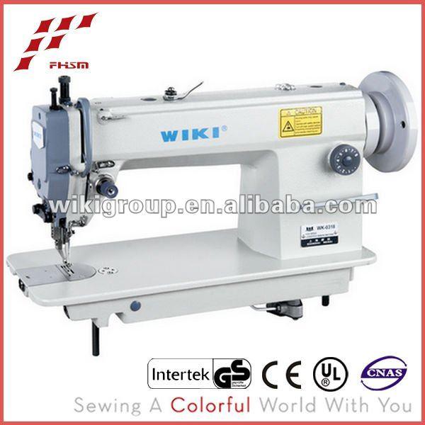 Wk0318 High-speed Lockstitch Japan Used Sewing Machine Blue Book ...