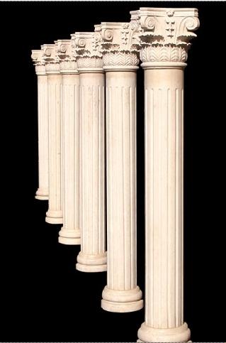 Decorative polyurethane roman column buy stone column for Polyurethane columns