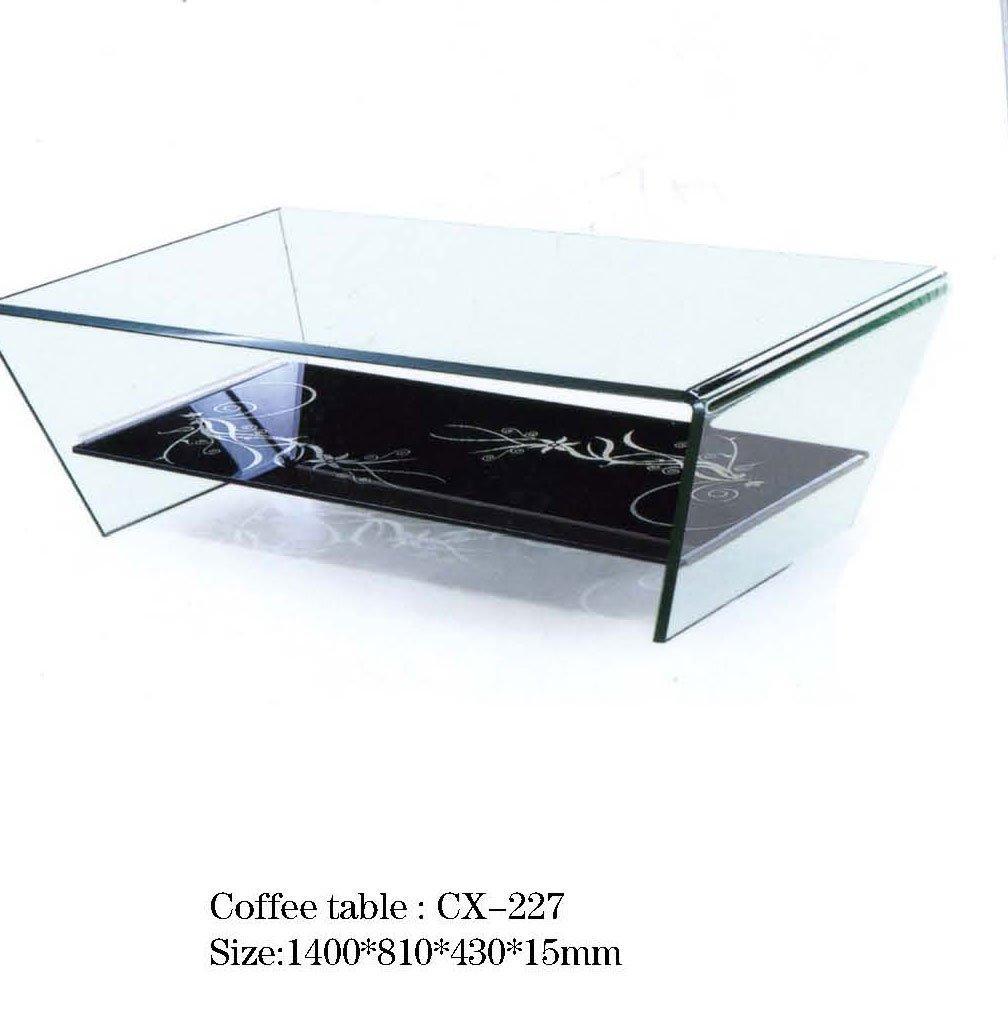 Modern Glass Center Tea Table Design