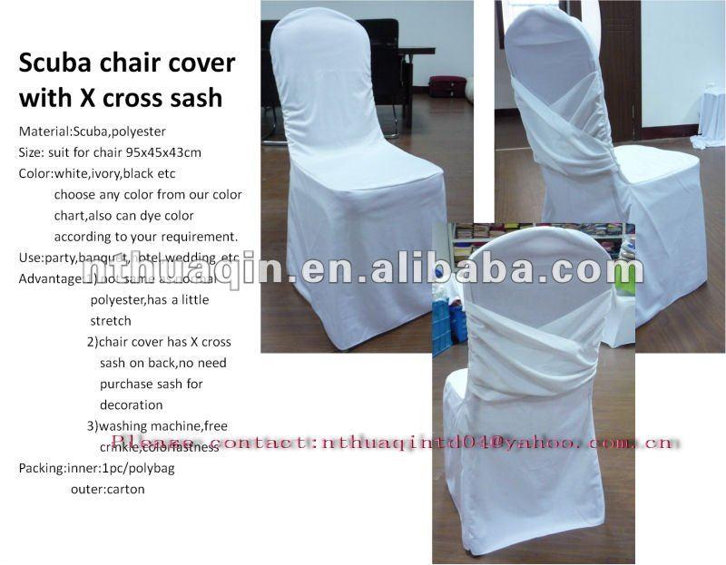 Spandex Stoel Cover Met X Cross Sash Wit Lycra Vier Manier Stretch Stoel Cover Nylon Stoel Cover Buy Spandex Stoelhoezen Voor Bruiloften,Wegwerp