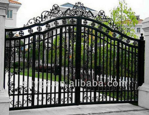 Fashion Modern Cast Iron Gate Grill Designs