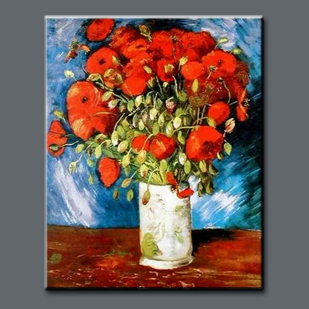 Handmade vincent van gogh romantic flower oil painting with vase handmade vincent van gogh romantic flower oil painting with vase reviewsmspy