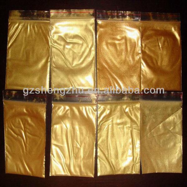 Gold Color Powder Coating
