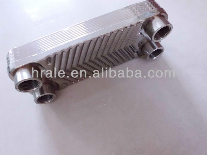 Плоские теплообменники из нержавеющей стали Кожухотрубный испаритель Alfa Laval DH2-163 Троицк