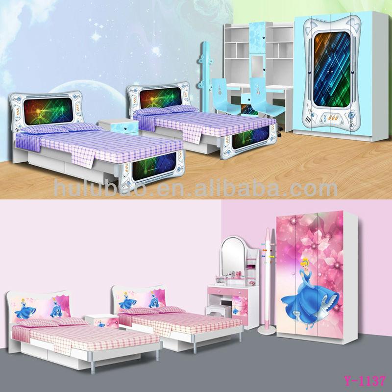 Discount Kids Furniture/childrens Bedroom Wardrobe/bed/computer ...