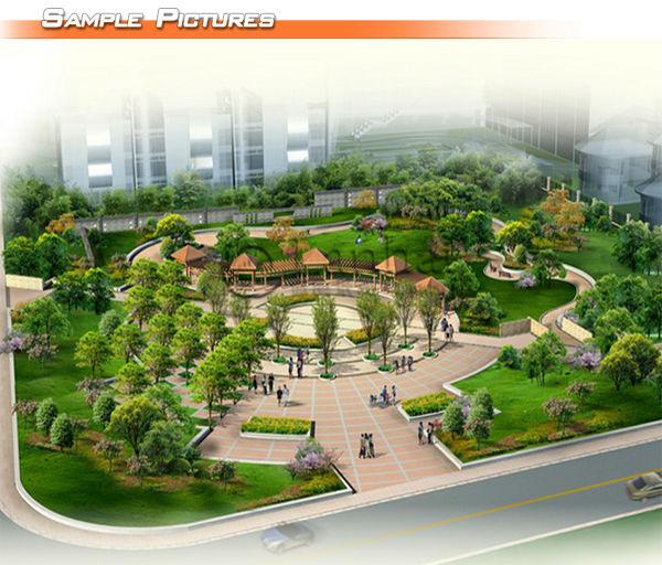 Urban Planning 3d Landscape Design