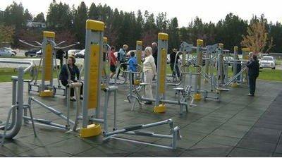 Updated New Design Outdoor Fitness Equipment/backyard Gym Equipment
