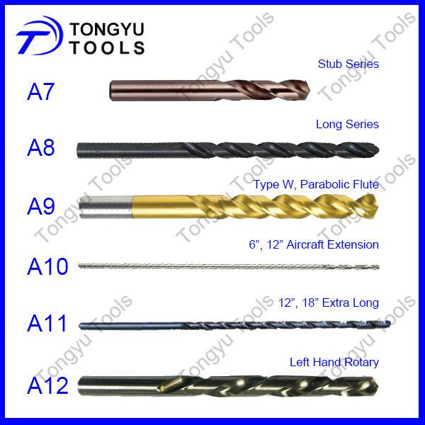 Din338 High Speed Steel Metal Drilling Hss Twist Drill
