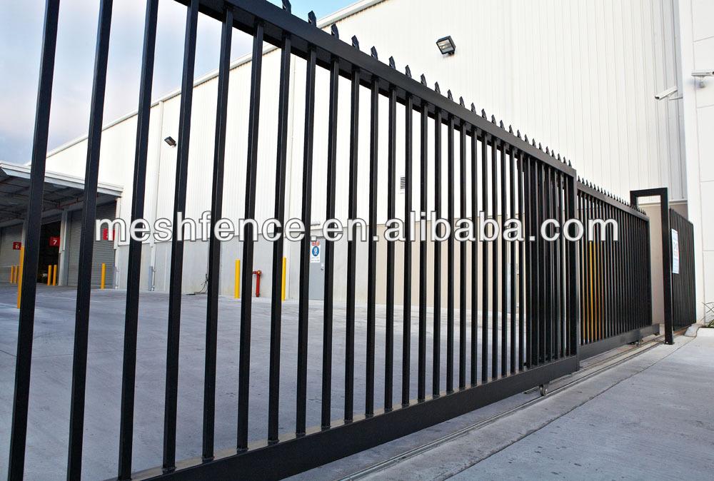 Tubular Steel Tube Fence Fencing Panels Post Base Plate
