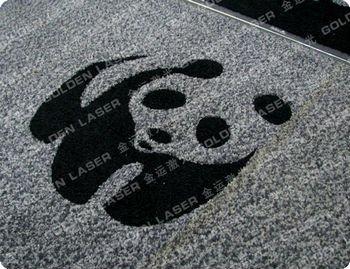 flatbed laser cutting machine floor mat pvc carpet - buy flatbed