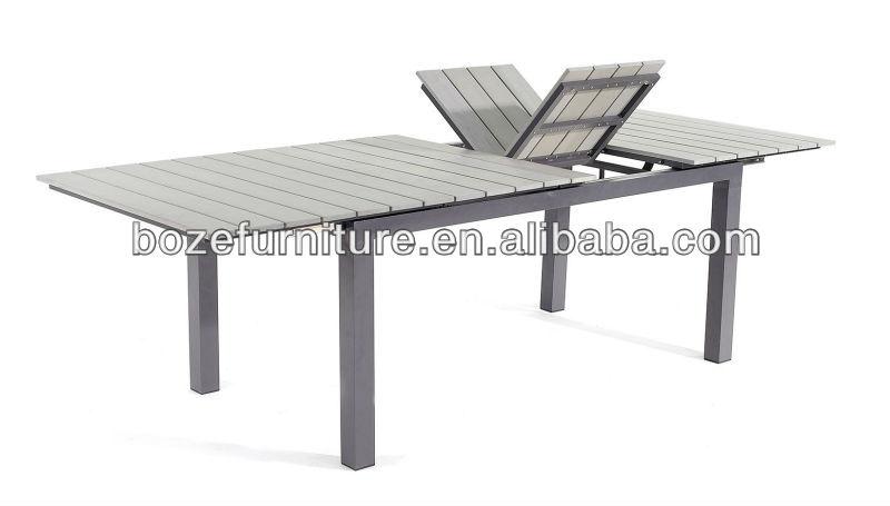 Tavolo Da Esterno Plastica.Mobili Da Giardino In Plastica Allungabile In Legno Tavolo Mobili