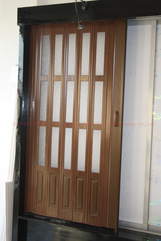 Pvc Porta Sanfonada Cor Branca Com Fibra De Vidro Buy Product On  ~ Porta Sanfonada Para Cozinha