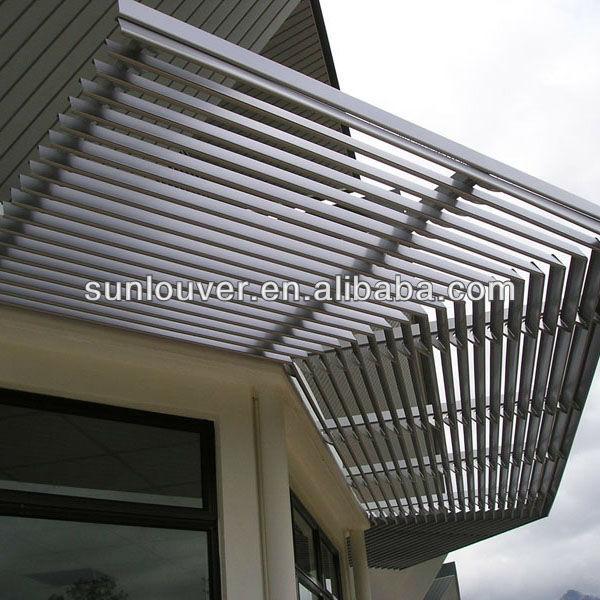 Dexone Simple Installation Sun Shade Aluminium Louver