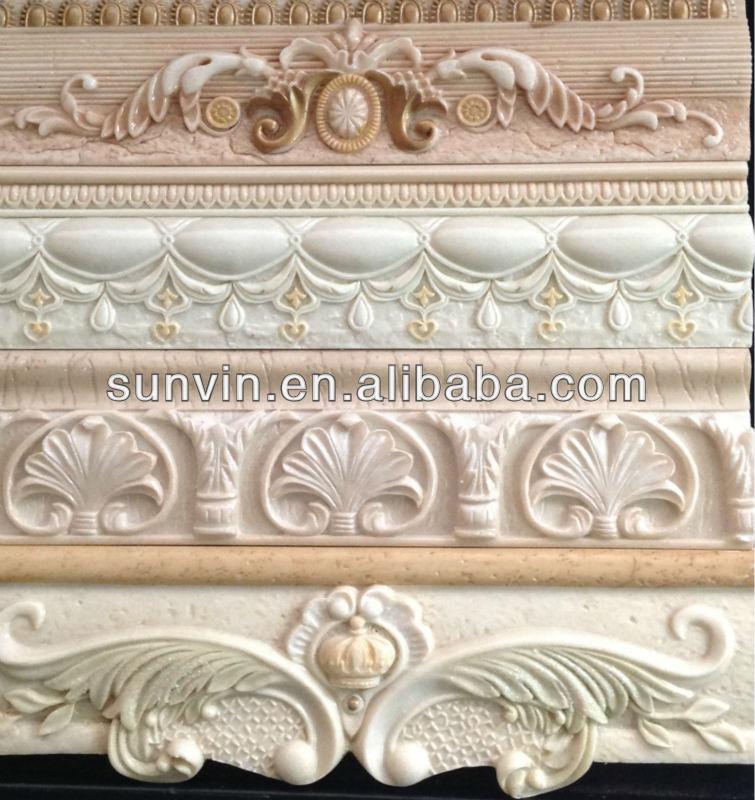 Kitchen Wall Decorative Design Resin Border 70x300mm - Buy ...