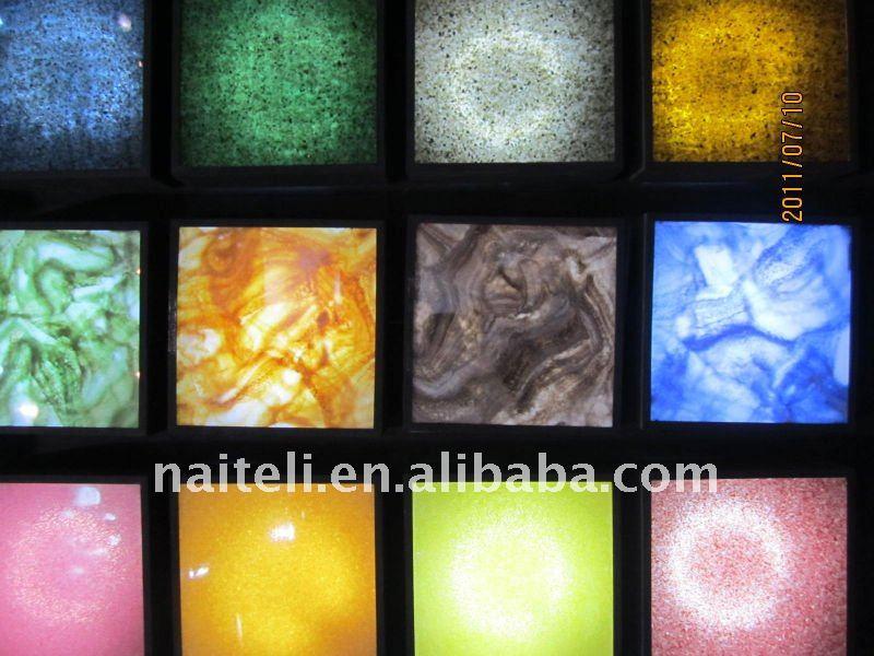 Marble Veins Acrylic Sliding Closet Door Panel