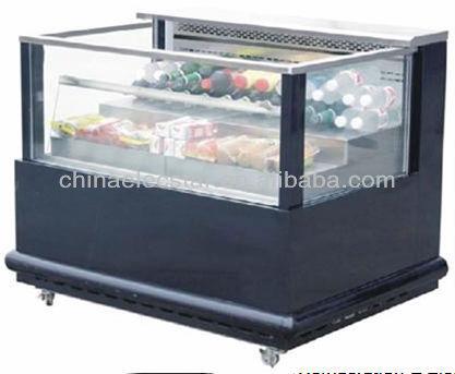 Kühlschrank Getränke : Oben offenen kühler schaufenster supermarkt getränke kühlschrank