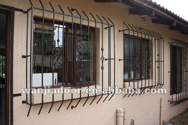 Decorative Security Bars For Casement Windows
