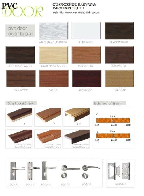 Mdf Wood Door Polish Color