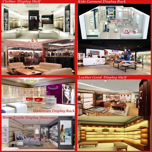Simple Style High Quality Interior Design Shop Furniture Garment Displayshop Displays