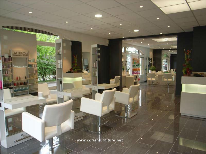 Elegant design beauty salon and hair salon styling unites for Salon de coiffure poissy
