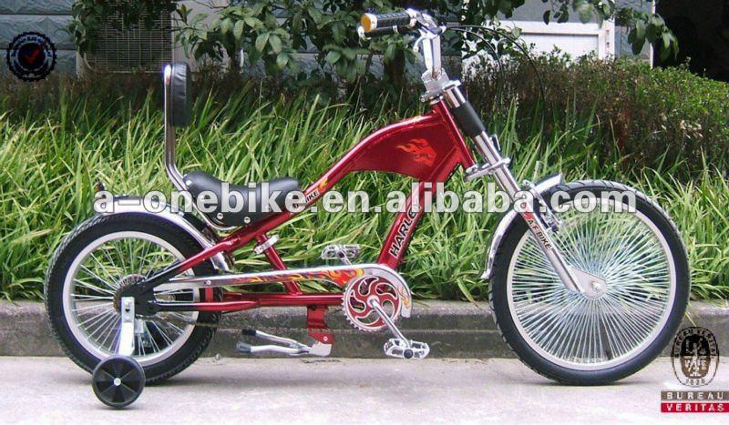 Nueva 20 Pulgadas + 16 Pulgadas Chopper Niños Bicicleta/bicicletas ...