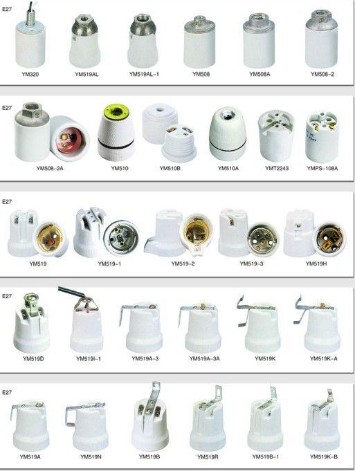 E27 Porcelain Lampholder Base Socket Buy Lamp Holder E27
