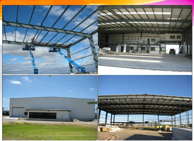 pre manufactured buildings steel structure warehouse with prefabricated modular buildings