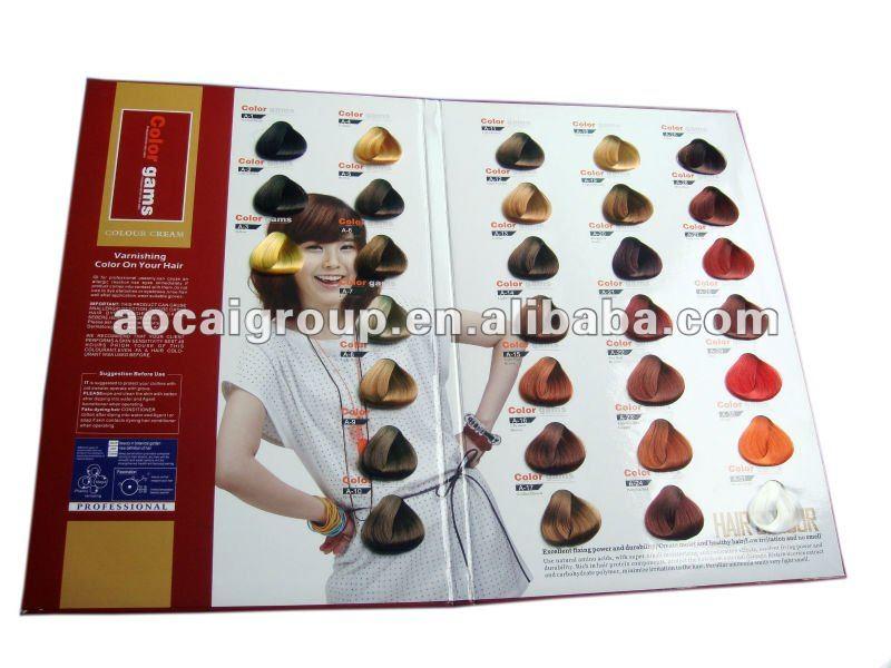 fashionable professional salon hair color chart - Matrix So Color Swatch Book
