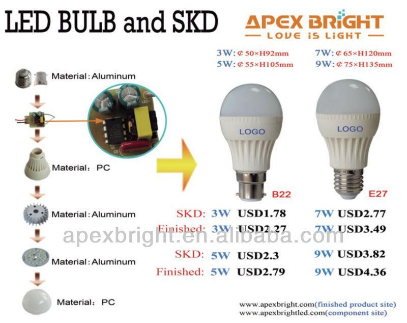 Smd 2835 Led Light Bulb Components