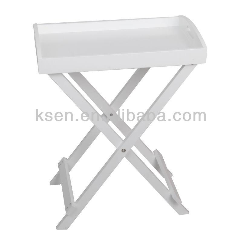 Plastic Folding Tray Table KC T322