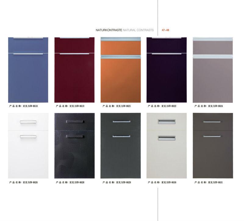 Hochglanz Acryl Küchenschrank Tür-design - Buy Acryl Küche ...