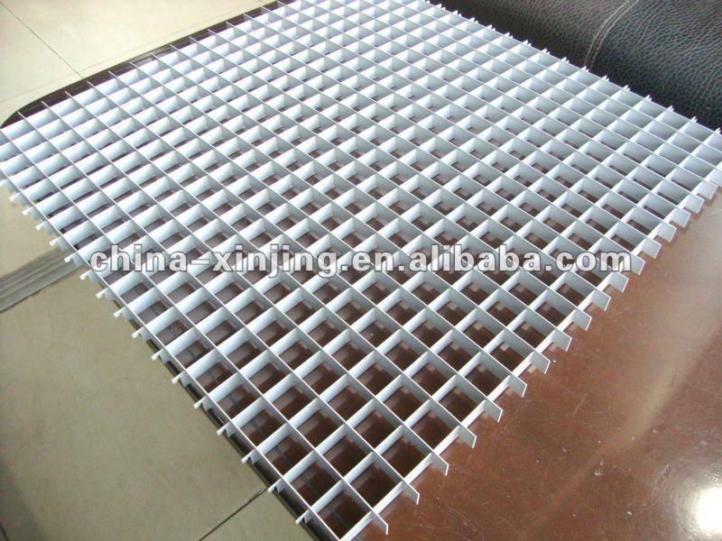 Controsoffitto grigliato in plastica controsoffitti in plastica grigliati open cell ppp - Grigliati in plastica per giardino ...