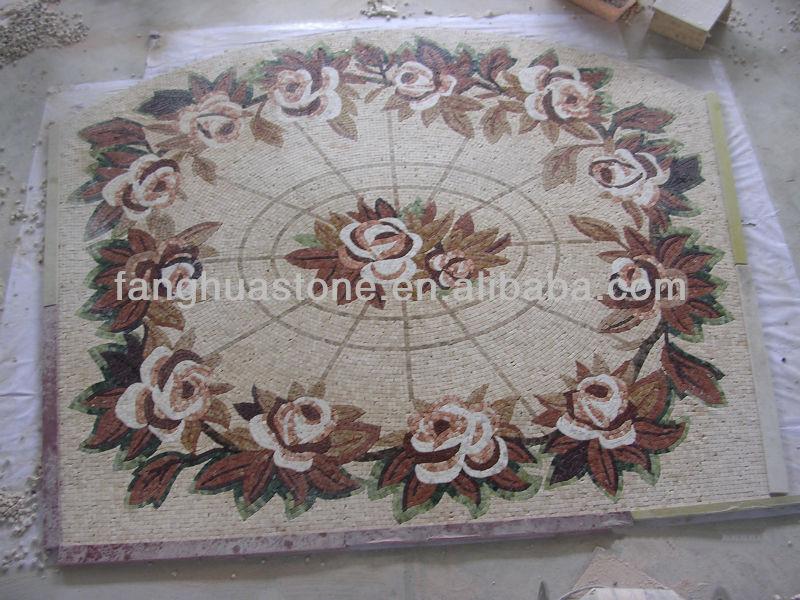Foyer Medallion Designs : Foyer tile round mosaic medallion floor patterns buy
