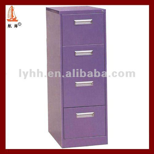 Retail Drawer Cabinet Colorful Purple Vertical Godrej 4 Drawer ...