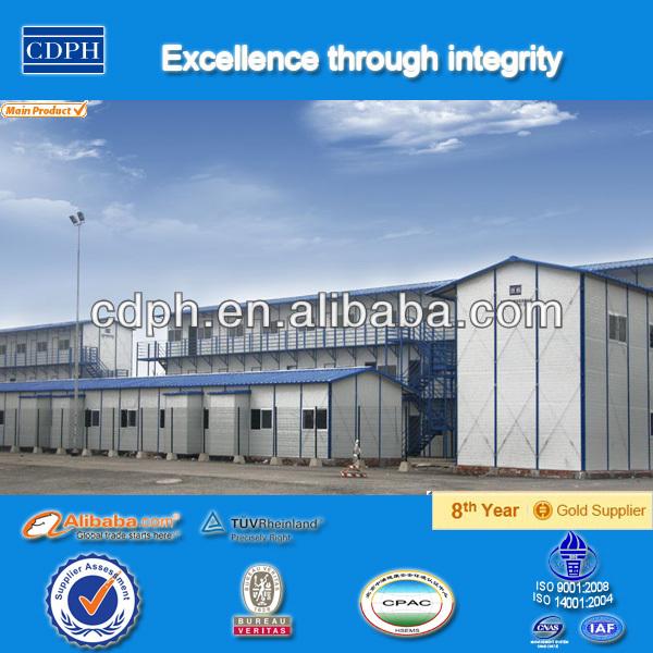 China Wpc Casas Prefabricadas Hecho De Material Reciclado Tela