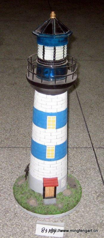 Polyresin vuurtoren zonne licht voor tuindecoratie ambachtelijke buy product on - Kleine zonne lamp ...