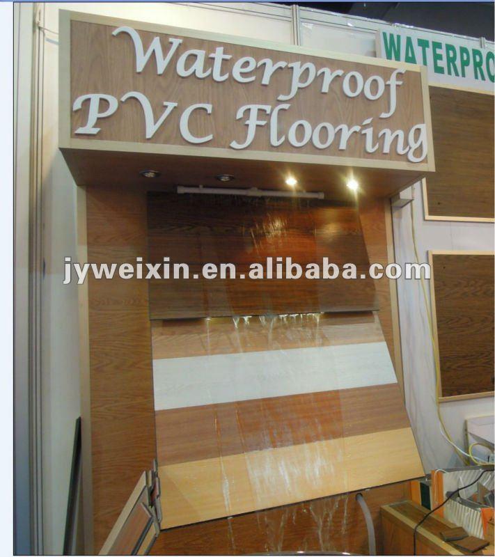 Outdoor Vinyl Flooring Plank For Hospital Sitting Room E1 Ac5