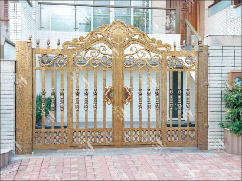 Cancello Esterno Moderno : Moderno e alla moda casa principale di alluminio cancello disegni