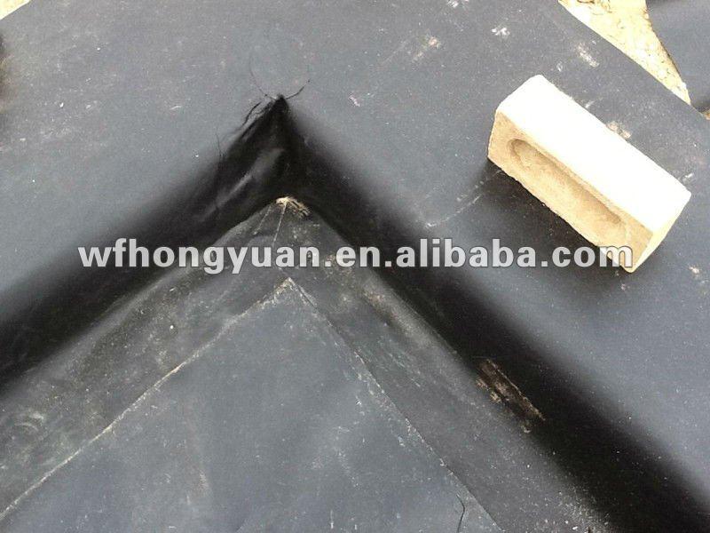 Epdm waterproof membrane swimming pool liner rubber pond for Pond liner material