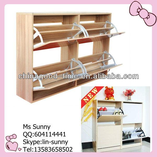 Mirror Melamine Shoe Cabinet,shoe Rack,shoe Shelf Part 87
