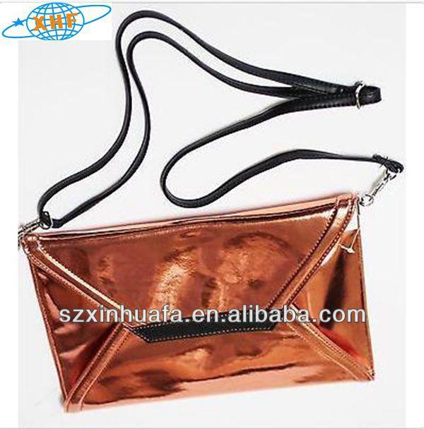 (XHF-WALLET-089) large envelope purse oem purses and handbags woman clutch