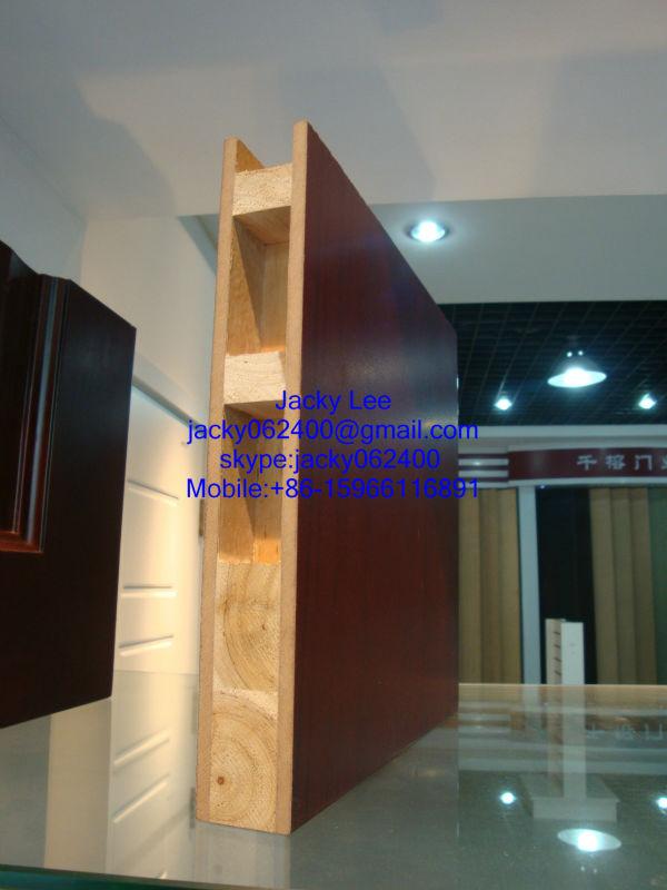 Wooden Grain PVC Faced MDF Morgan Interior Doors