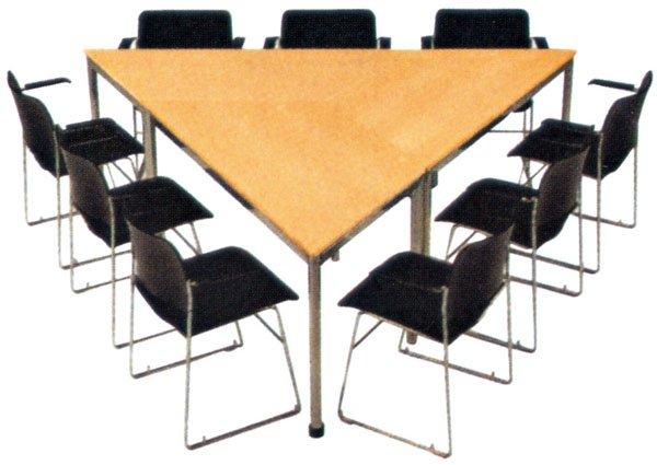 Haute qualité bureau triangle négociation bureau moderne petit