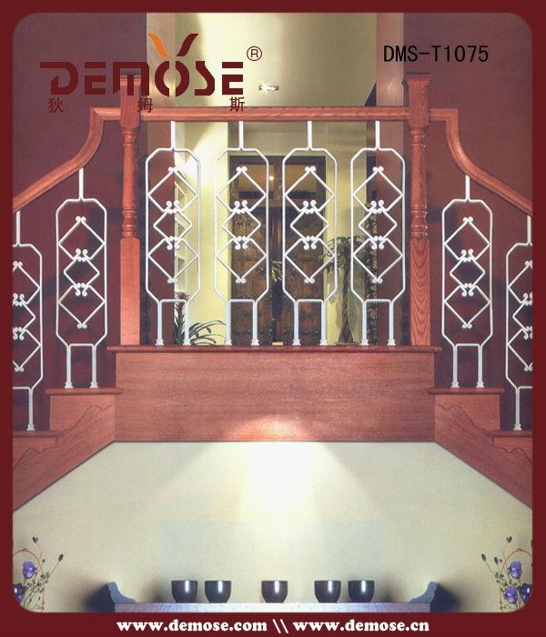 moderno de hierro forjado pasamanos diseo para escaleras de interior
