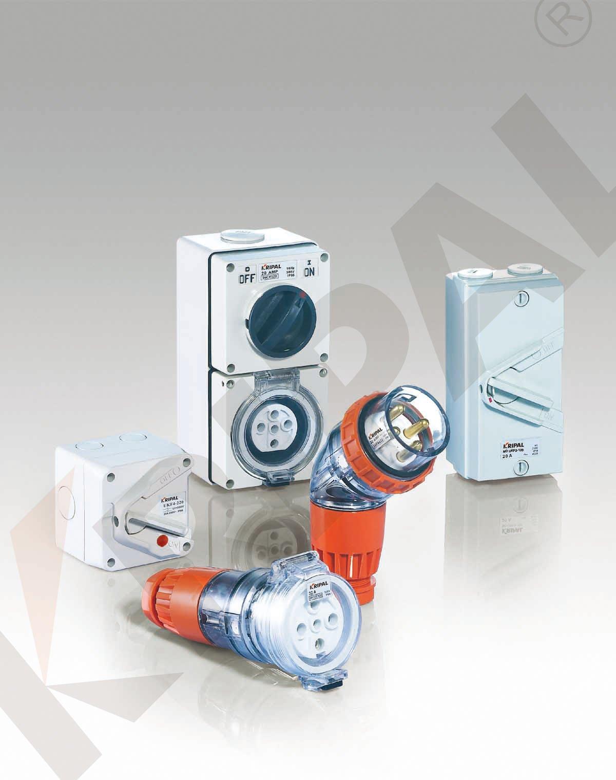 Waterproof Isolator Switch Plug Waterproof Socket Terminal