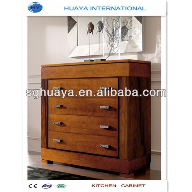 Elegant Modern Solid Wooden Shoe Cabinet Design