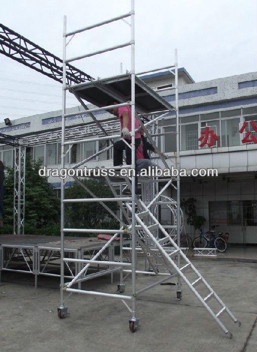 Safe Durable Aluminium Mobile Scaffolding System Buy